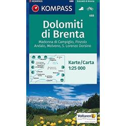 Dolomiti di Brenta 1:25.000 (688)