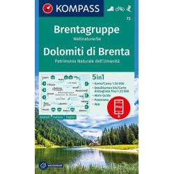 Brentagruppe Dolomiti dei Brenta 1:50.000 (73)