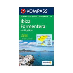 Kompass Ibiza Formentera 1/50.000 (239)