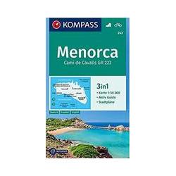 Kompass Menorca 1/50.000 (243)