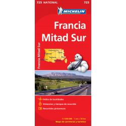 Michelin Francia Mitad Sur