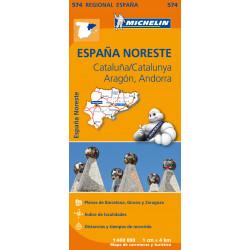 Michelin España Noreste Cataluña/Catalunya, Aragón, Andorra (574)