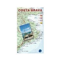Costa Brava Mapa Turístic i Carreteres
