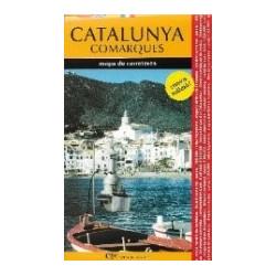 Catalunya Comarques Mapa Turístic i de Carreteres 1/300.000