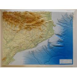 Mapa Relleu Catalunya 1/450.000 (90x68cm)