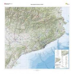 Mapa Relleu Catalunya 1/250.000 125x115cm