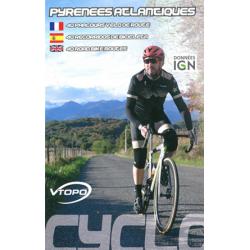 Pyrénées Atlantiques 40 Recorridos en Bicicleta (Francés/Castellano/Inglés)