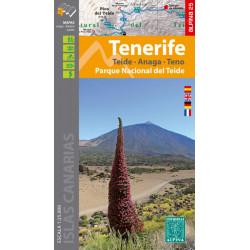 Alpina 25 Tenerife Carpeta 4 Mapas Teide Anaga Teno