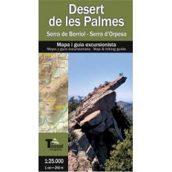 Desert de les Palmes - Serra de Borriol  Serra d'Orpesa 1/25.000