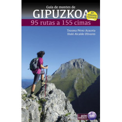 Guía de Montes de Gipuzkoa 95 Rutas a 155 Cimas 6ª Edición Renovada
