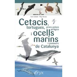 Minidesplegable Cetacis, Tortugues, Peixos Pelàgics, Ocells Marins