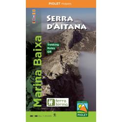 Marina Baixa Serra d'Aitana 1/20.000