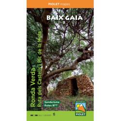 Baix Gaià Ronda Verda Ruta dels Castells 1:20.000 2ª Edició