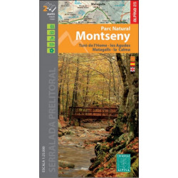 Alpina 25 Montseny Parc Natural Carpeta 2 Mapes