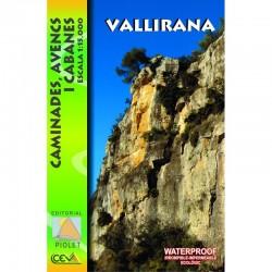 Vallirana Caminades, Avencs i Cabanes 1/15.000 Impermeable