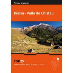 Mapa TOP 25 Bielsa - Valle de Chistau