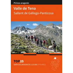 Mapa TOP 25 Valle de Tena