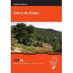 Mapa Top 25 Sierra de Gúdar