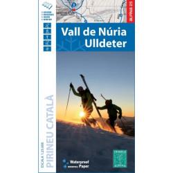 Alpina Vall Núria Ulldeter Hivern Invierno 1:25.000