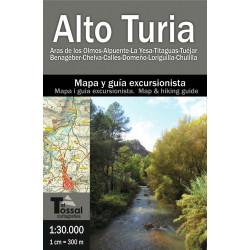 Alto Turia 1/30.000 Aras de los Olmos - Chulilla