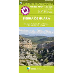 14 Sierra de Guara 1/50.000