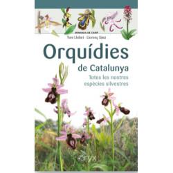 Minidesplegable Plastificat Orquídies de Catalunya Totes les Nostres Espècies Silvestres