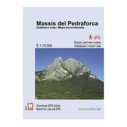 Massís del Pedraforca 1:15.000 Mont Editorial
