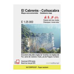 El Cabrerès - Collsacabra 1:25.000 Mont Editorial