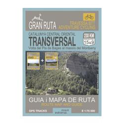 Gran Ruta Transversal Catalunya Central 1:75.000 Mont Editorial