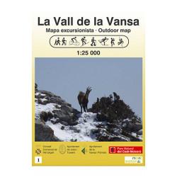 La Vall de la Vansa 1:25.000 Mont Editorial