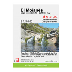 El Moianès Mapa Excursionista 1:40.000 Mont Editorial