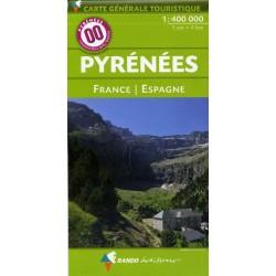 00 Pyrénées 1/400.000