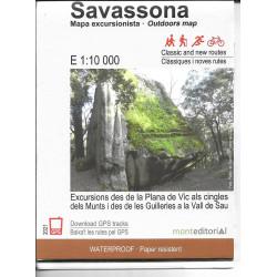 Savassona Mapa Excursionista 1:10.000