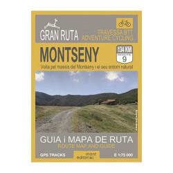 Gran Ruta Montseny 1:75.000 Mont Editorial