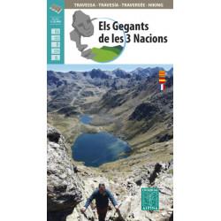 Alpina Els Gegants de les 3 Nacions Catalunya Andorra Arièja 1:25.000
