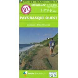 01 Pays Basque Ouest 1/50.000