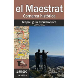 El Maestrat Mapa i Guia Excursionista 1:85.000 El Tossal