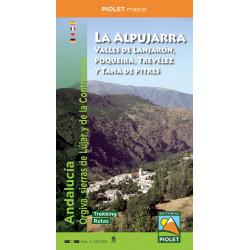 La Alpujarra-Valles de Lanjarón, Poqueira, Trevélez y Taha de Pitres 1:25.000