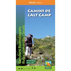 Camins de l'Alt Camp 1:40.000 - 2ª Edició
