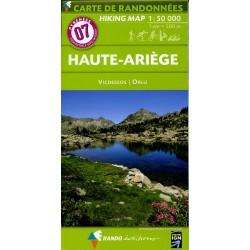 07 Haute-Ariège 1/50.000