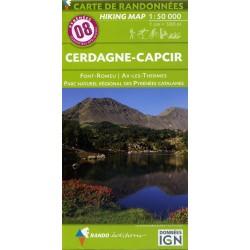 08 Cerdagne-Capcir 1/50.000