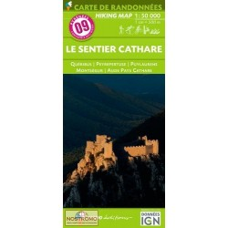 09 Le Sentier Cathare 1/50.000