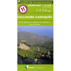 11 Collioure-Cadaqués 1/50.000