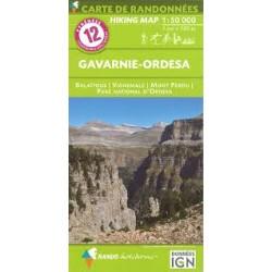 12 Gavarnie-Ordesa 1/50.000