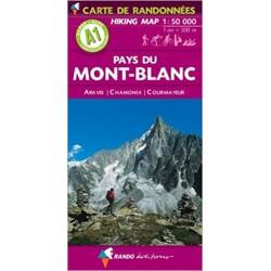 A1 Pays du Mont-Blanc 1/50.000