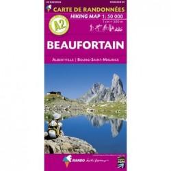 A2 Beaufortain 1/50.000