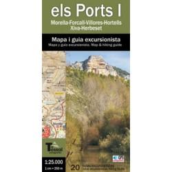 Els Ports I Morella-Herbeset 1:25.000