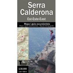 Serra Calderona 1:30.000 2 Mapes