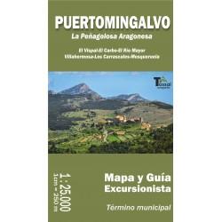 Puertomingalvo La Peñagolosa Aragonesa 1:25.000
