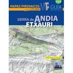 Mapas Pirenaicos Sierra de Andia Etxauri